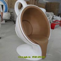 bàn ghế ăn composite chân inox