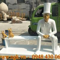 ghế ngồi bằng nhựa composite cao cấp