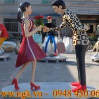 mô hình cặp đôi khiêu vũ cao cấp
