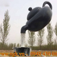 mô hình composite thác nước ấm trà cao cấp