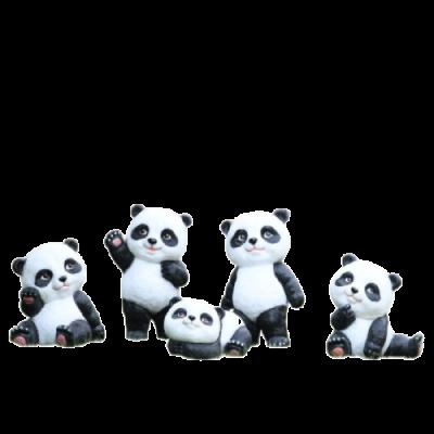 Mô hình con gấu trúc panda composite theo yêu cầu