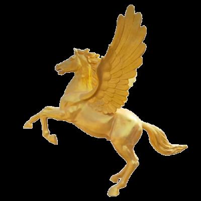 Mô hình con ngựa vàng thu hút tài lộc