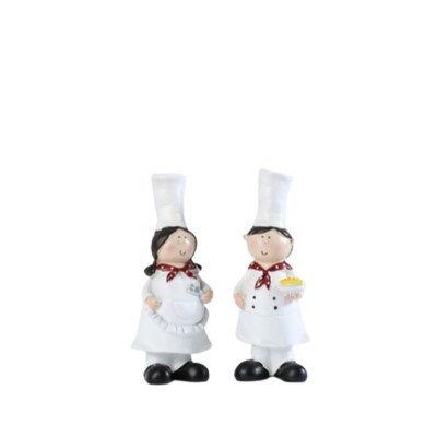 Imart nhận làm tượng composite hình cô bé, cậu bé đầu bếp đáng yêu