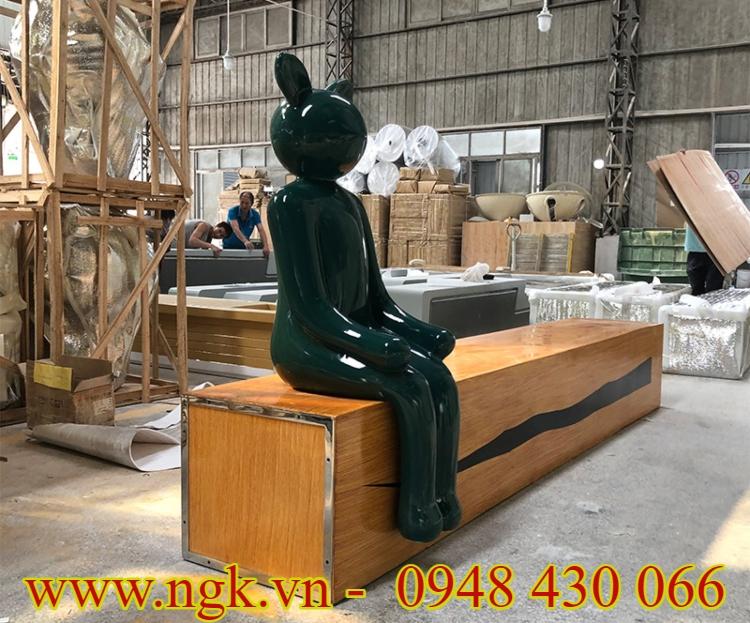 bàn ghế composite decor