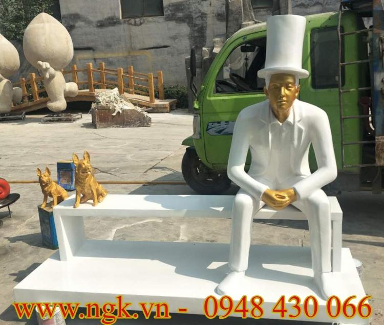 ghế ngồi bằng nhựa composite cao cấp xuất khẩu