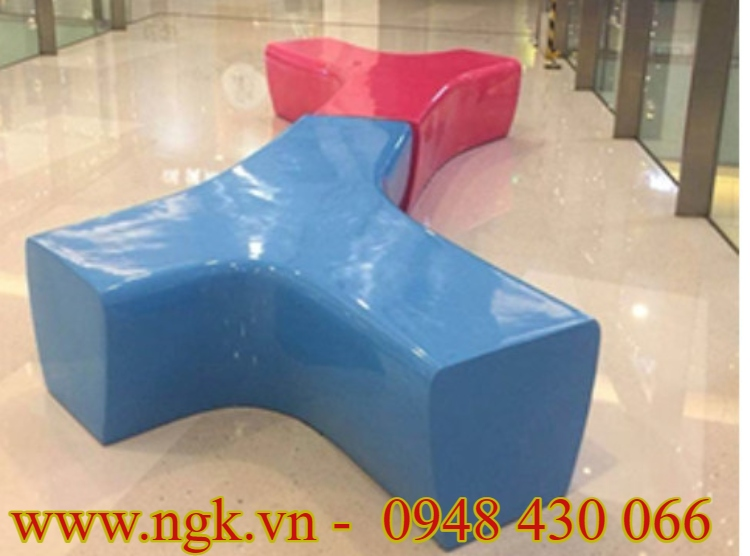 Ghế nhựa composite kiểu dáng mới lạ