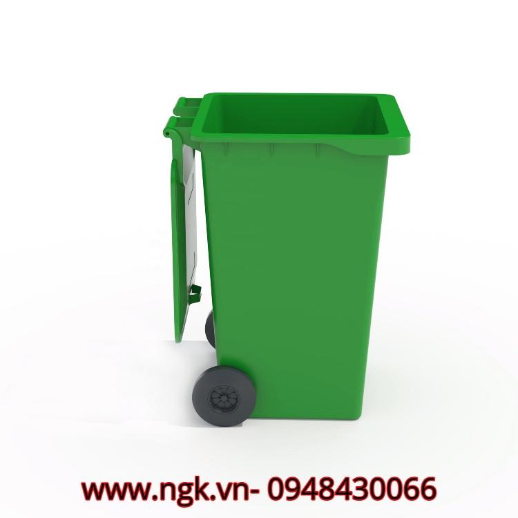 thùng rác composite hiện đại