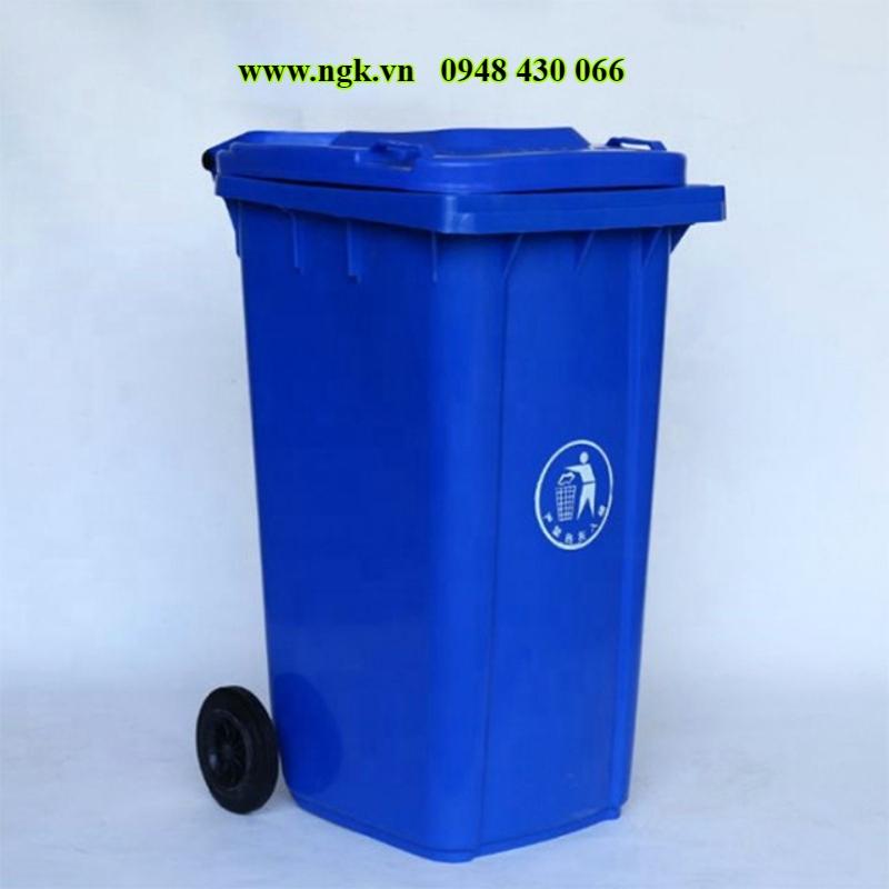 thùng rác composite hình thú