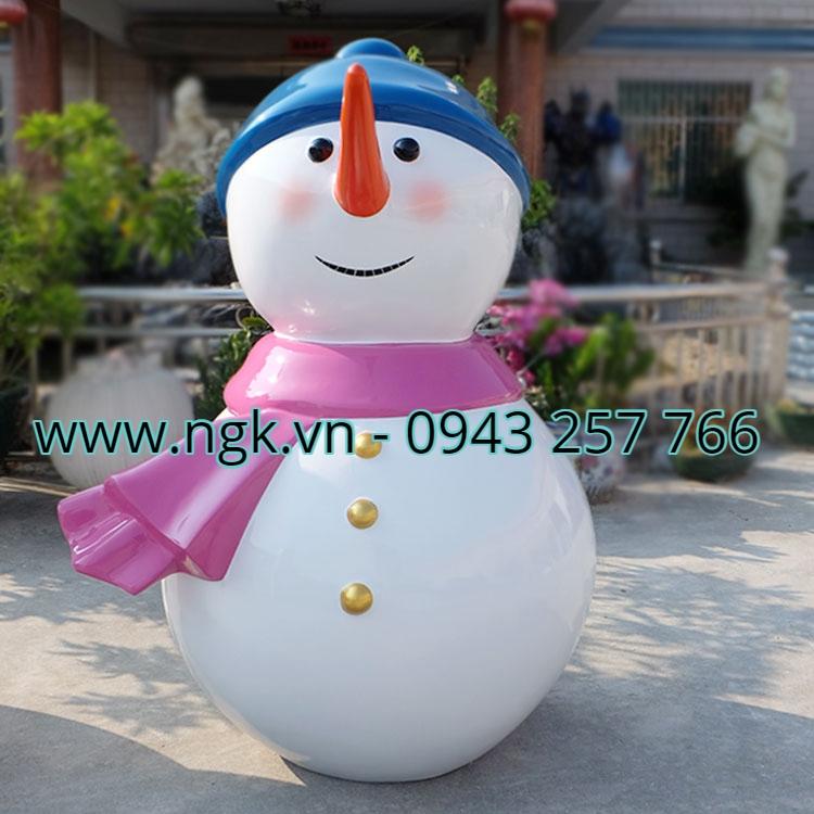 tượng người tuyết