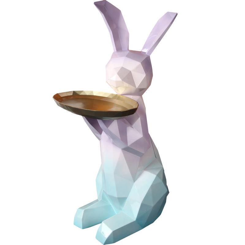Bàn composite decor hình chú thỏ cao cấp