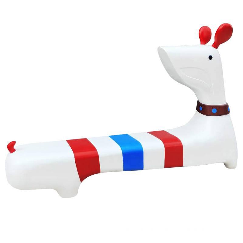 Ghế dài composite hình chú cún cao cấp