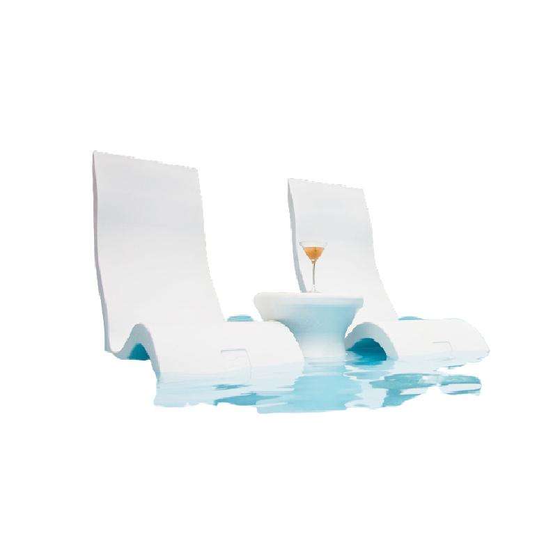 Sản phẩm ghế tắm nắng composite hiện đại.